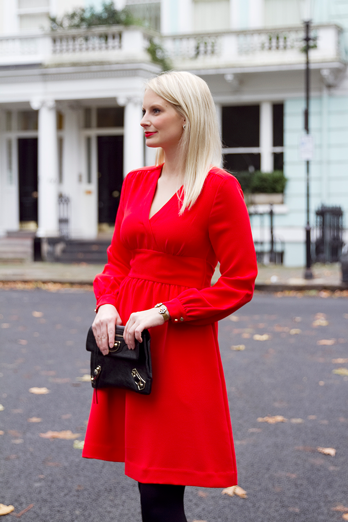 Little Red Dress | The Style Scribe