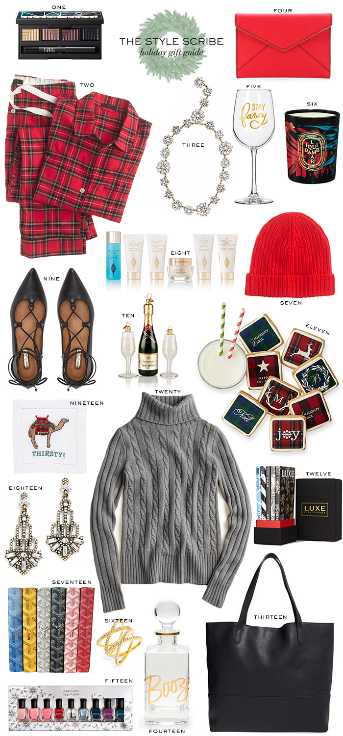 Holiday Gift Guide // Under $100 | The Style Scribe
