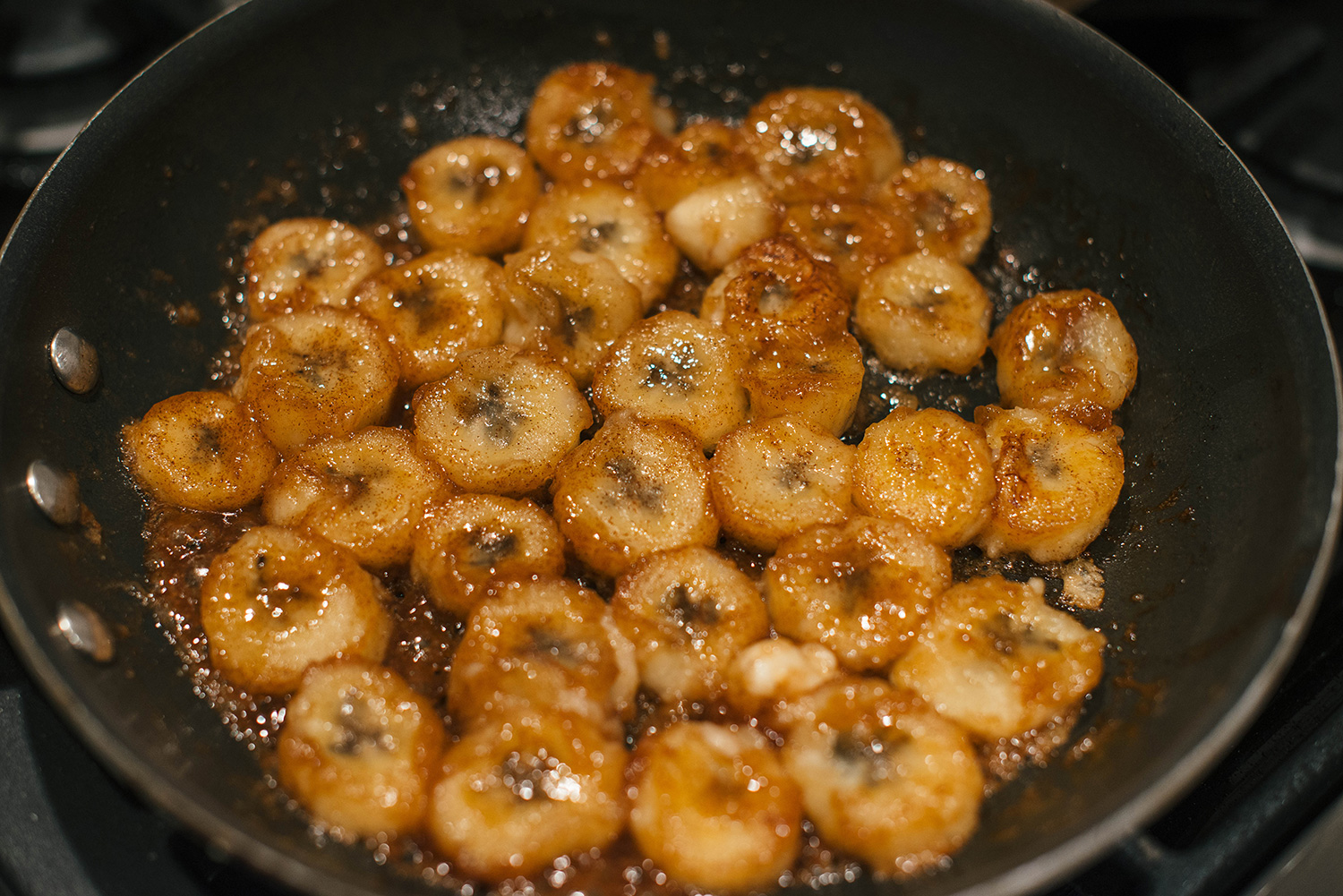 Caramelized Bananas + Bluebell