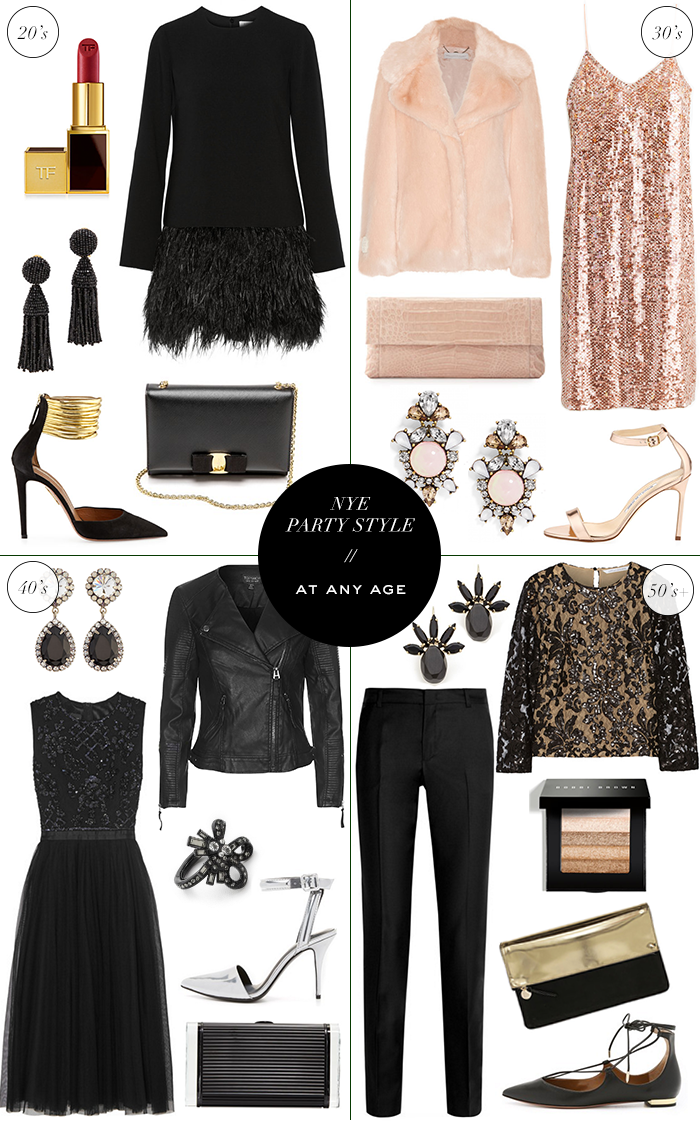 NYE Party Style, At Any Age | The Style Scribe
