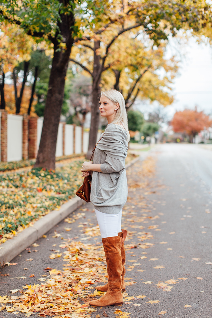 White Jeans in Winter | The Style Scribe