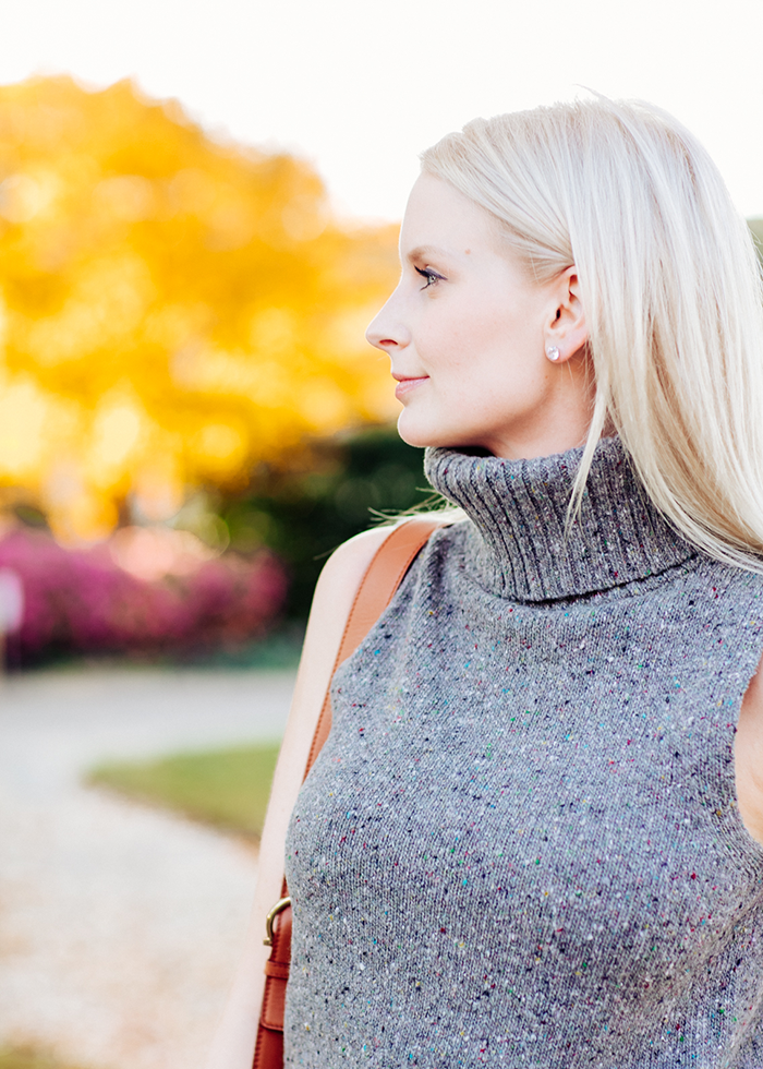 Sleeveless Sweater | The Style Scribe