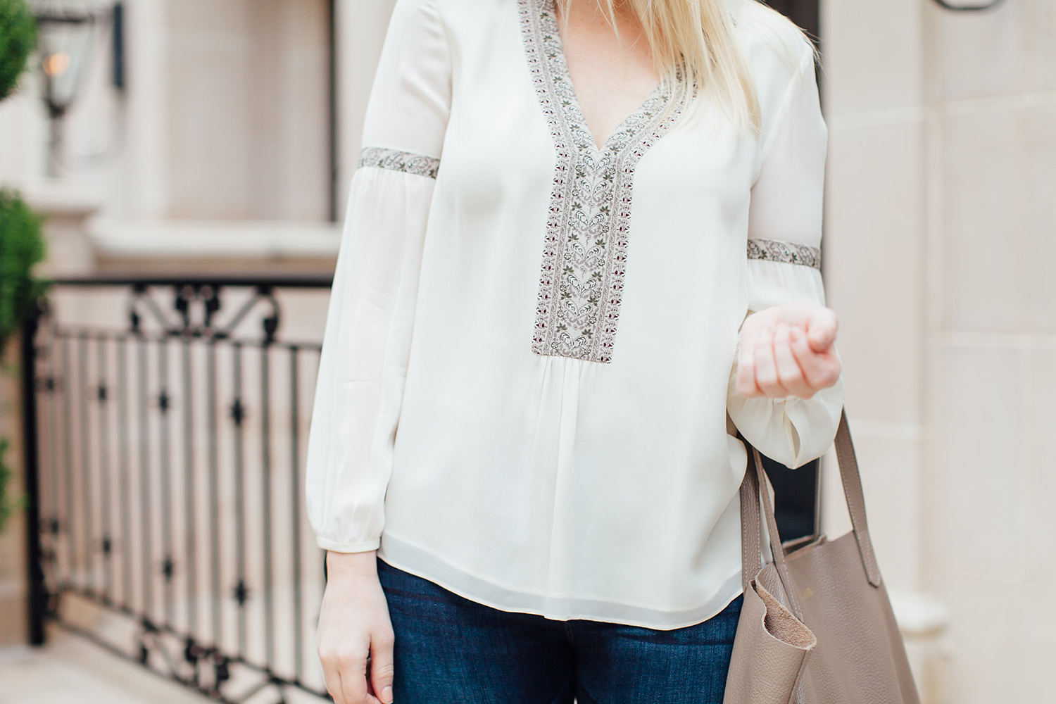 Silk Tunic | The Style Scribe