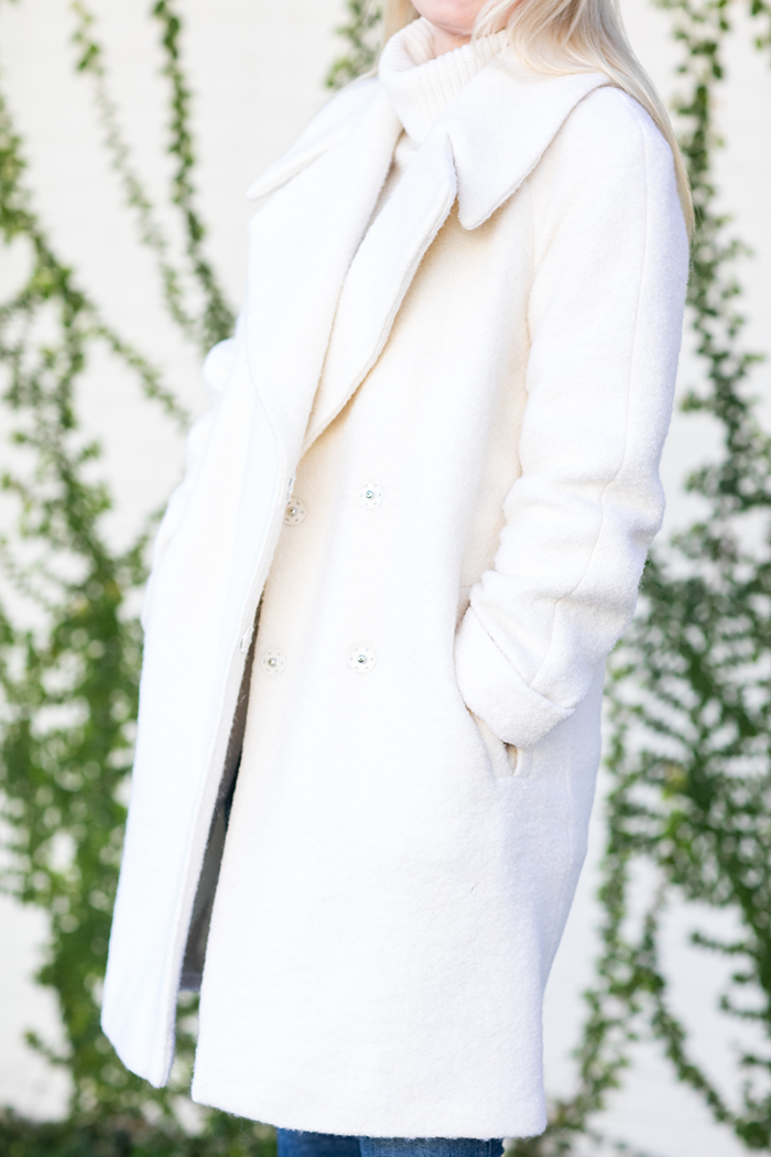 Winter White Coat | The Style Scribe