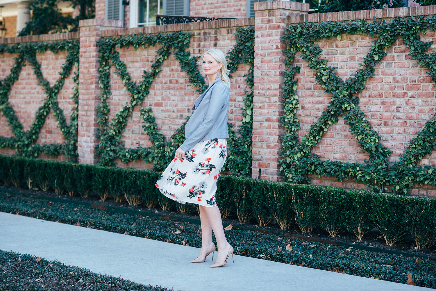 Floral Midi | The Style Scribe