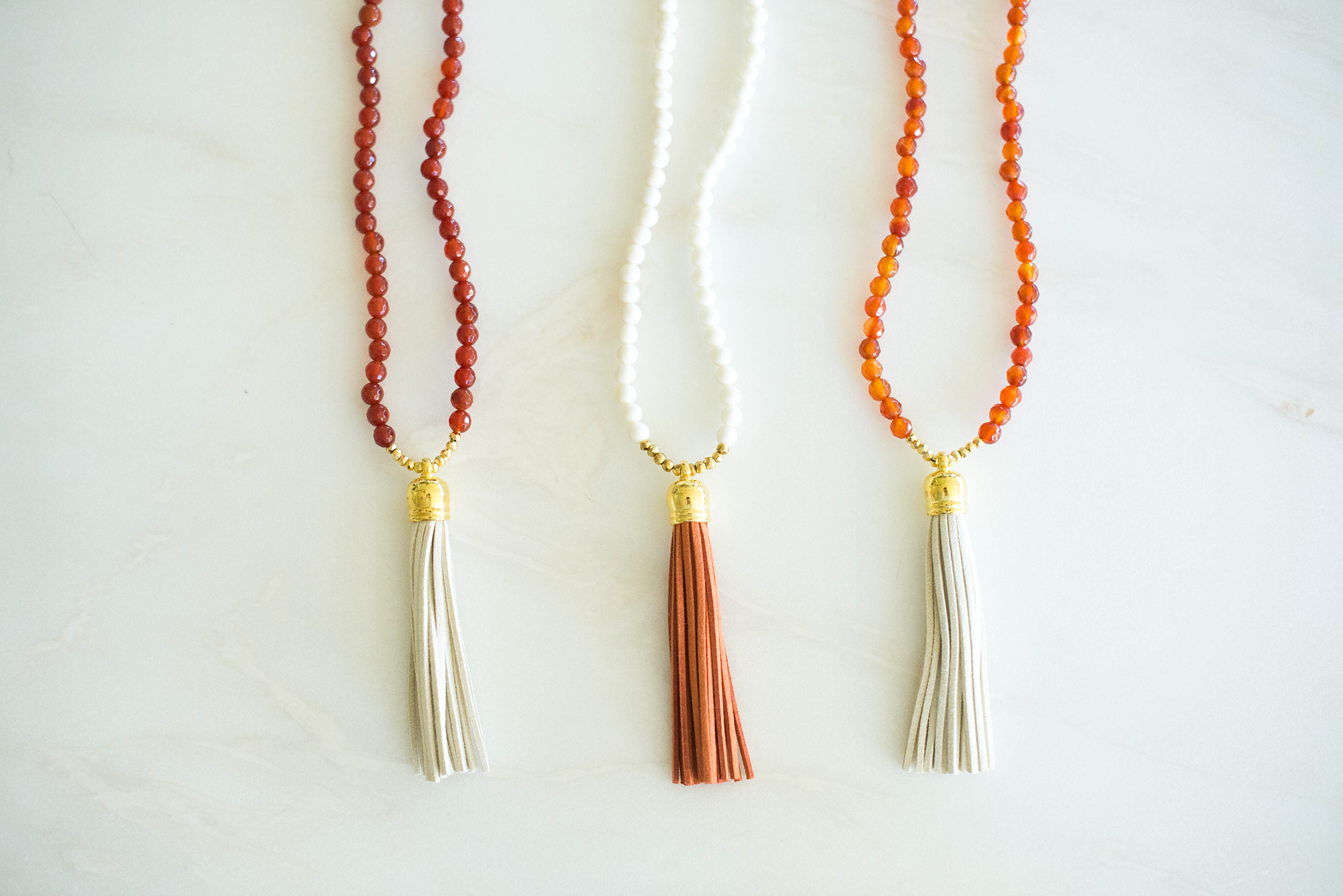 Laura Windsor Tassel Necklaces | The Style Scribe