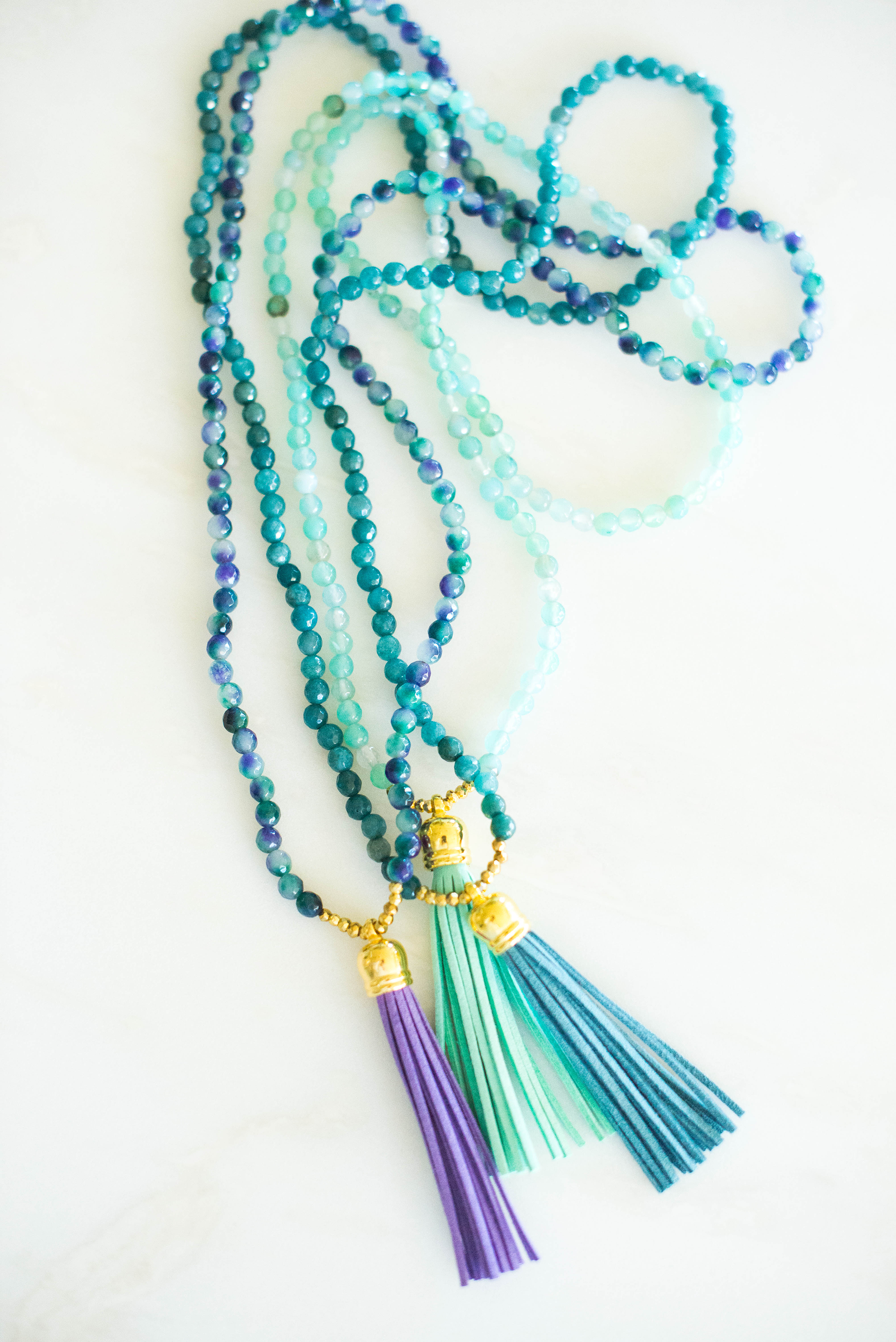 Laura Windsor Beaded Tassel Necklaces | The Style Scribe