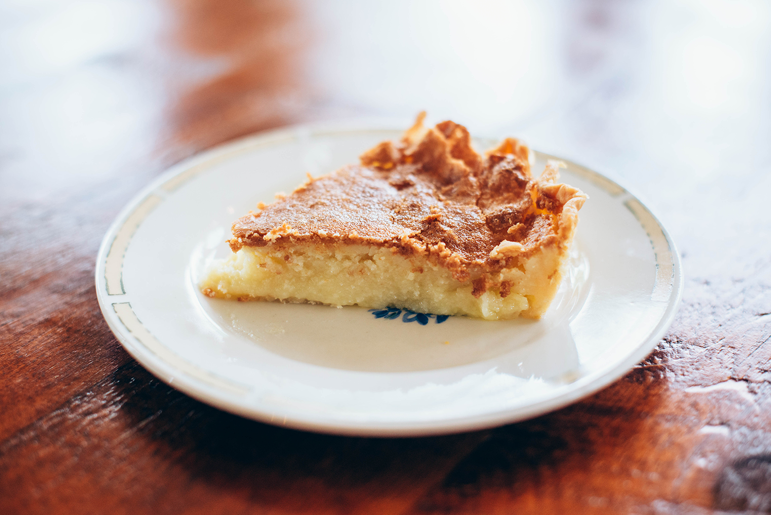 Buttermilk Pie | The Style Scribe