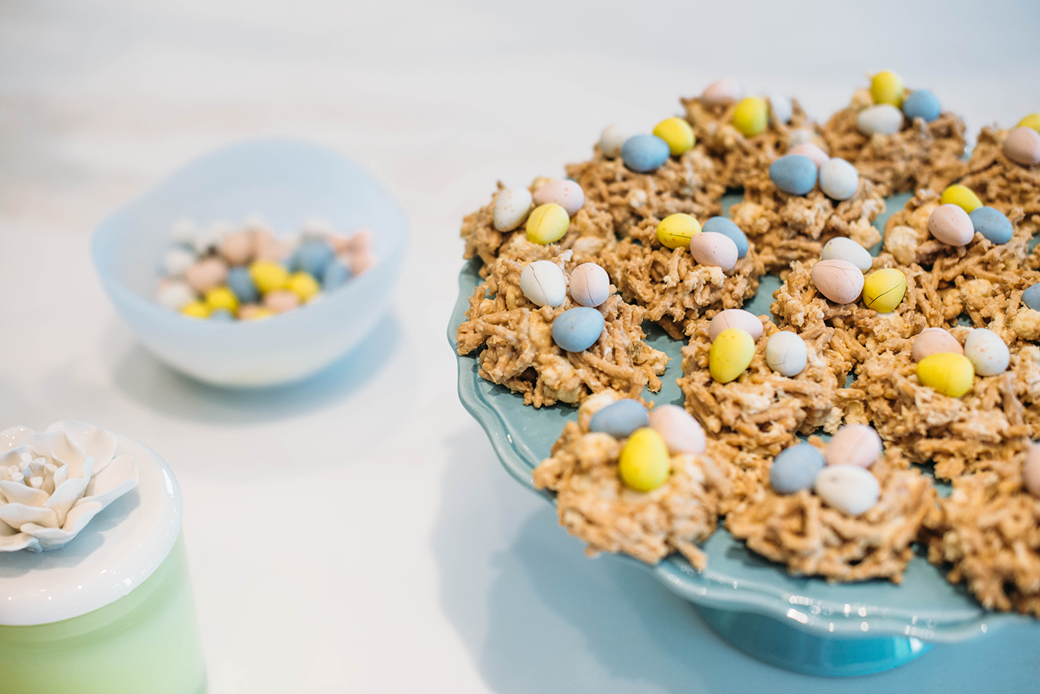 Easter Recipe: Peanut Butter Bird's Nests | The Style Scribe