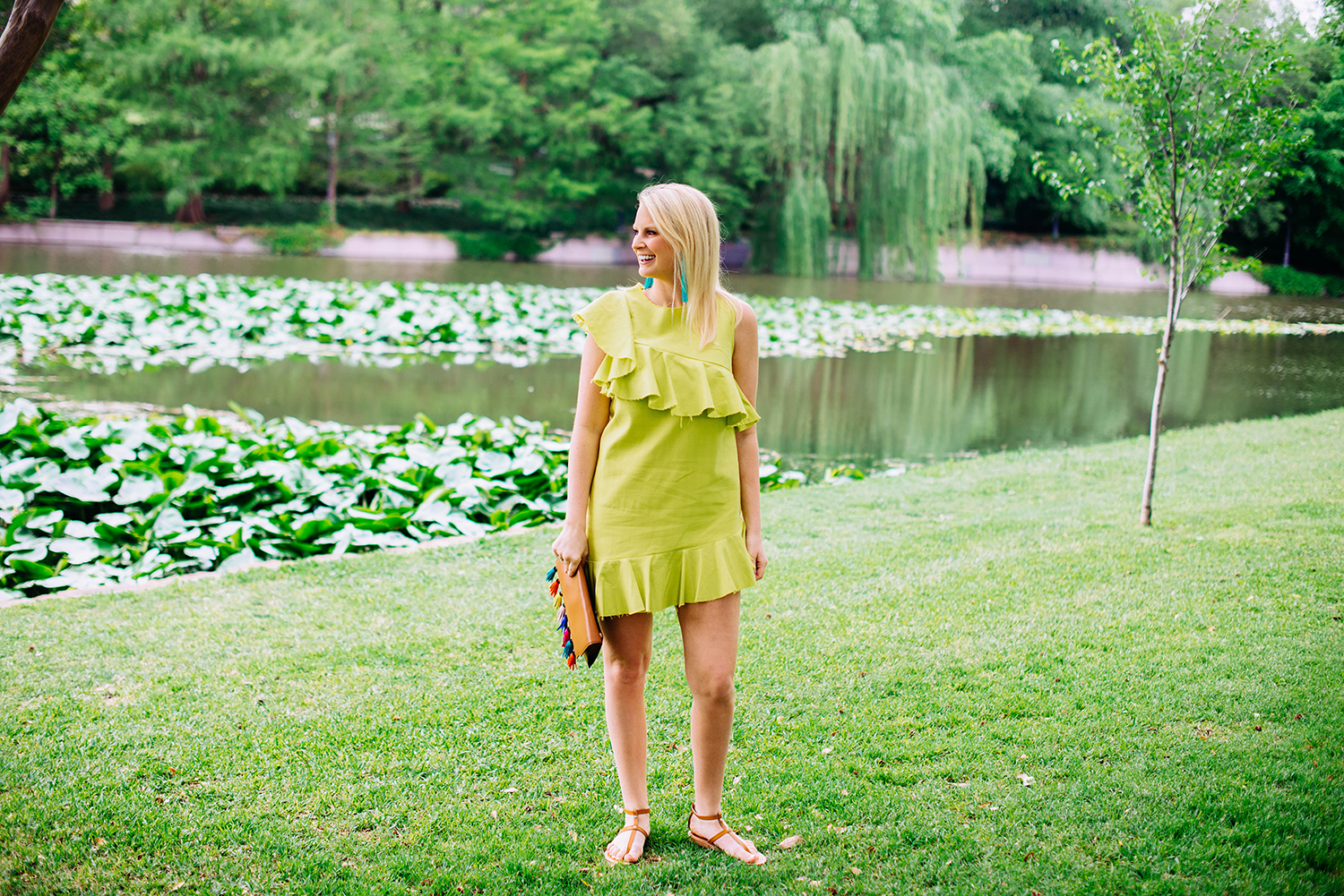 chartreuse-dress-