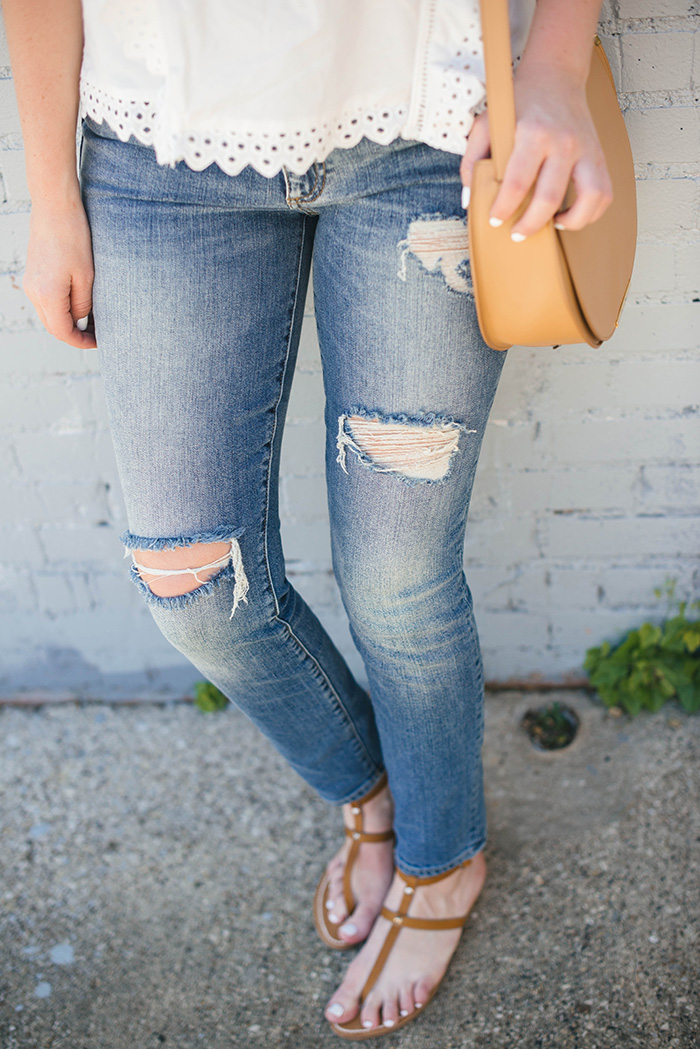 The Perfect Destroyed Skinny Jean | The Style Scribe
