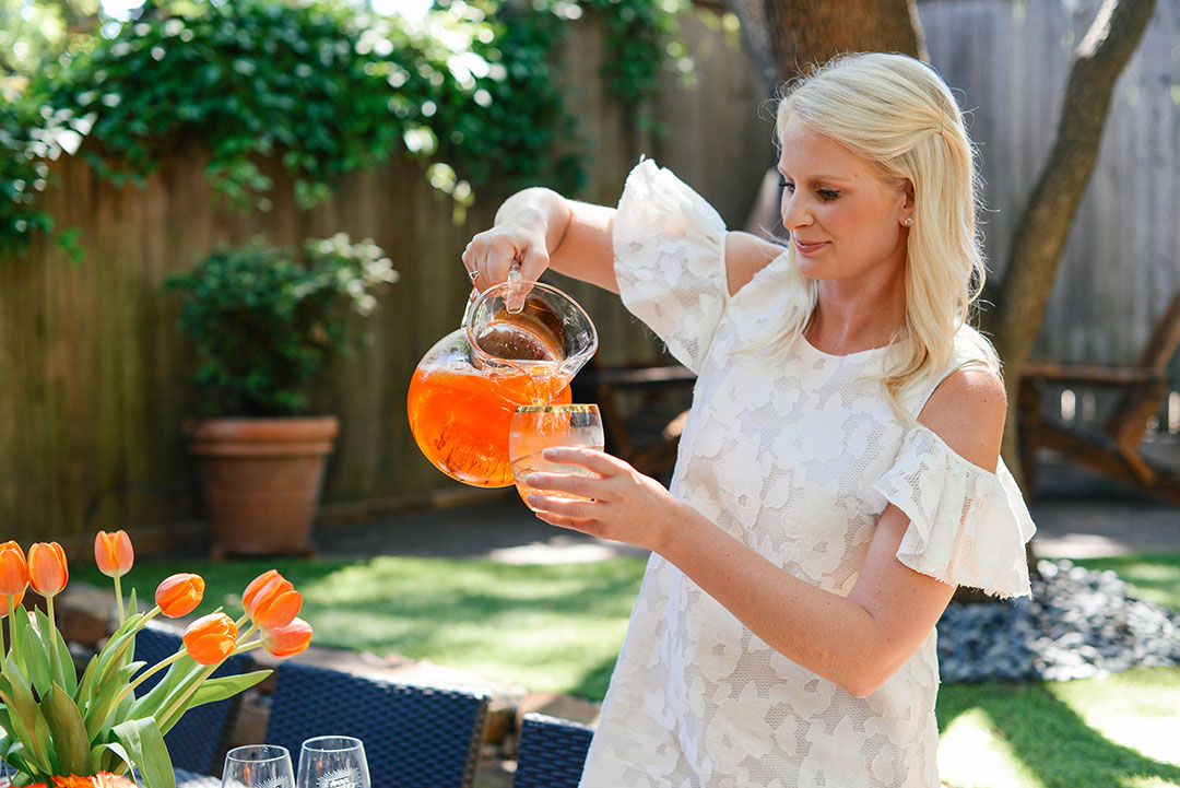 A Refreshing Summer Cocktail | The Style Scribe