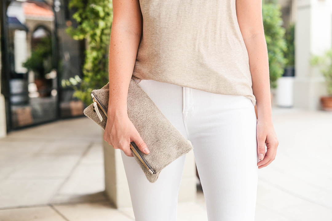 Calf-Hair Clutch | The Style Scribe