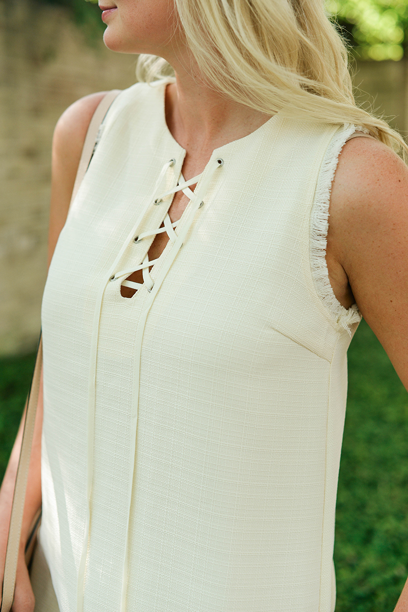 Lace-Up Dress   The Style Scribe