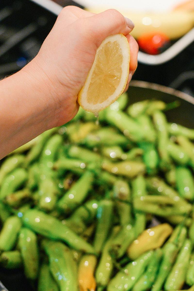 How To Make Shishito Peppers | The Style Scribe