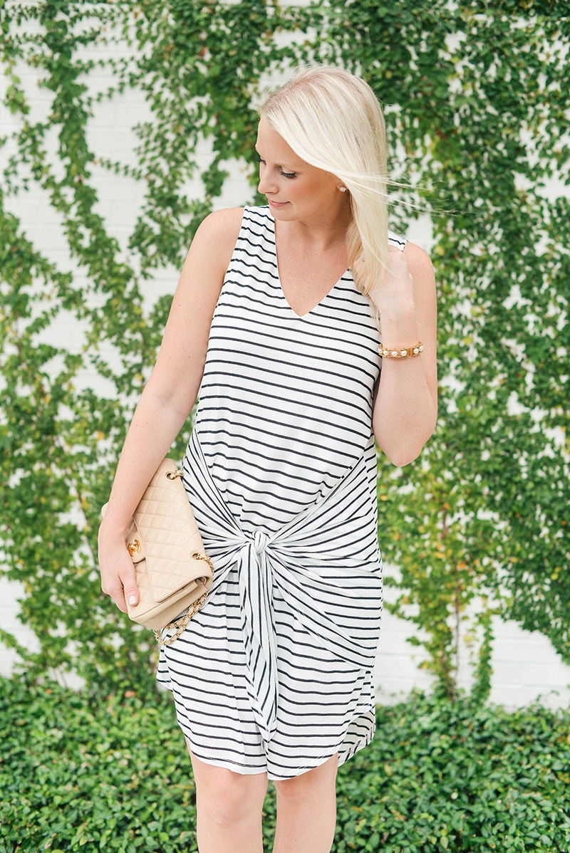 Tie-Front Tank Dress | The Style Scribe
