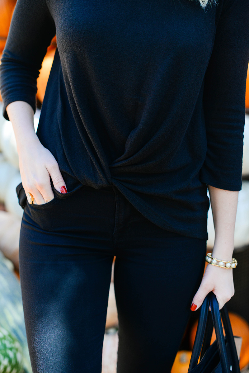 Knot Front Tee | The Style Scribe