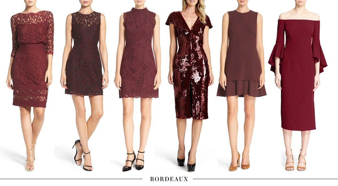 What to Wear to a Fall/Winter Wedding | Guest Attire Dress Guide