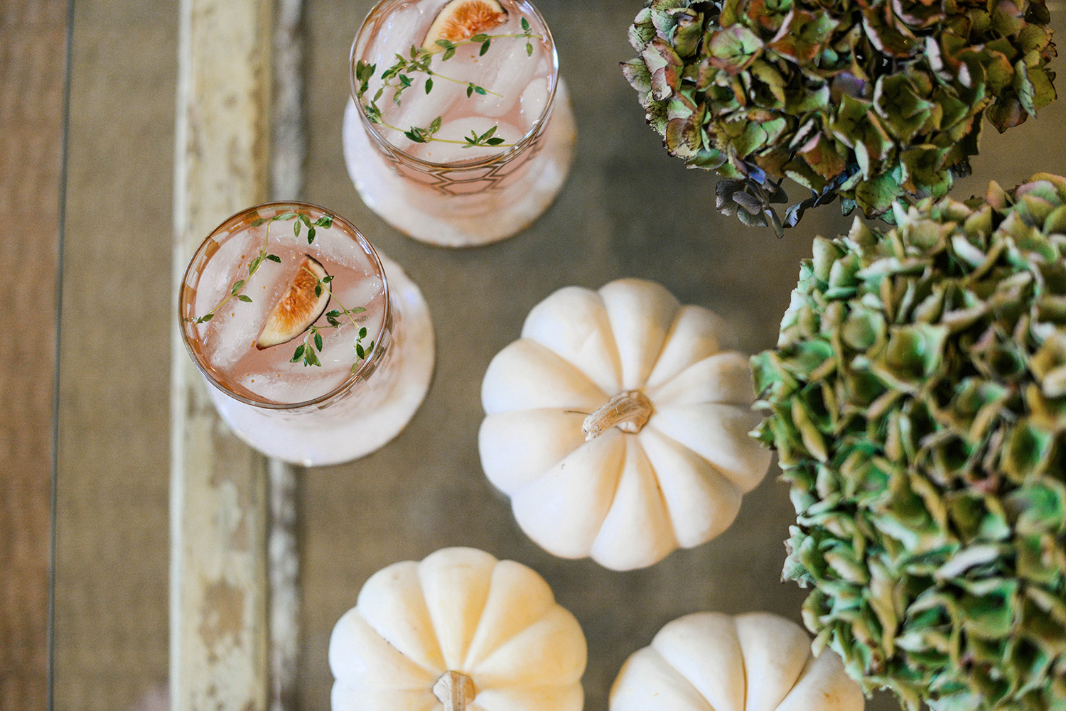 Fig & Thyme Cocktail | The Style Scribe