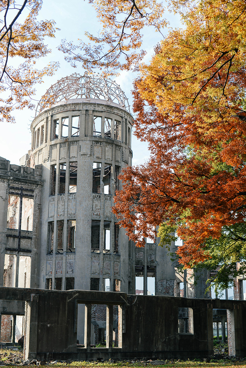 Visiting the Hiroshima A-Bomb Dome in Japan