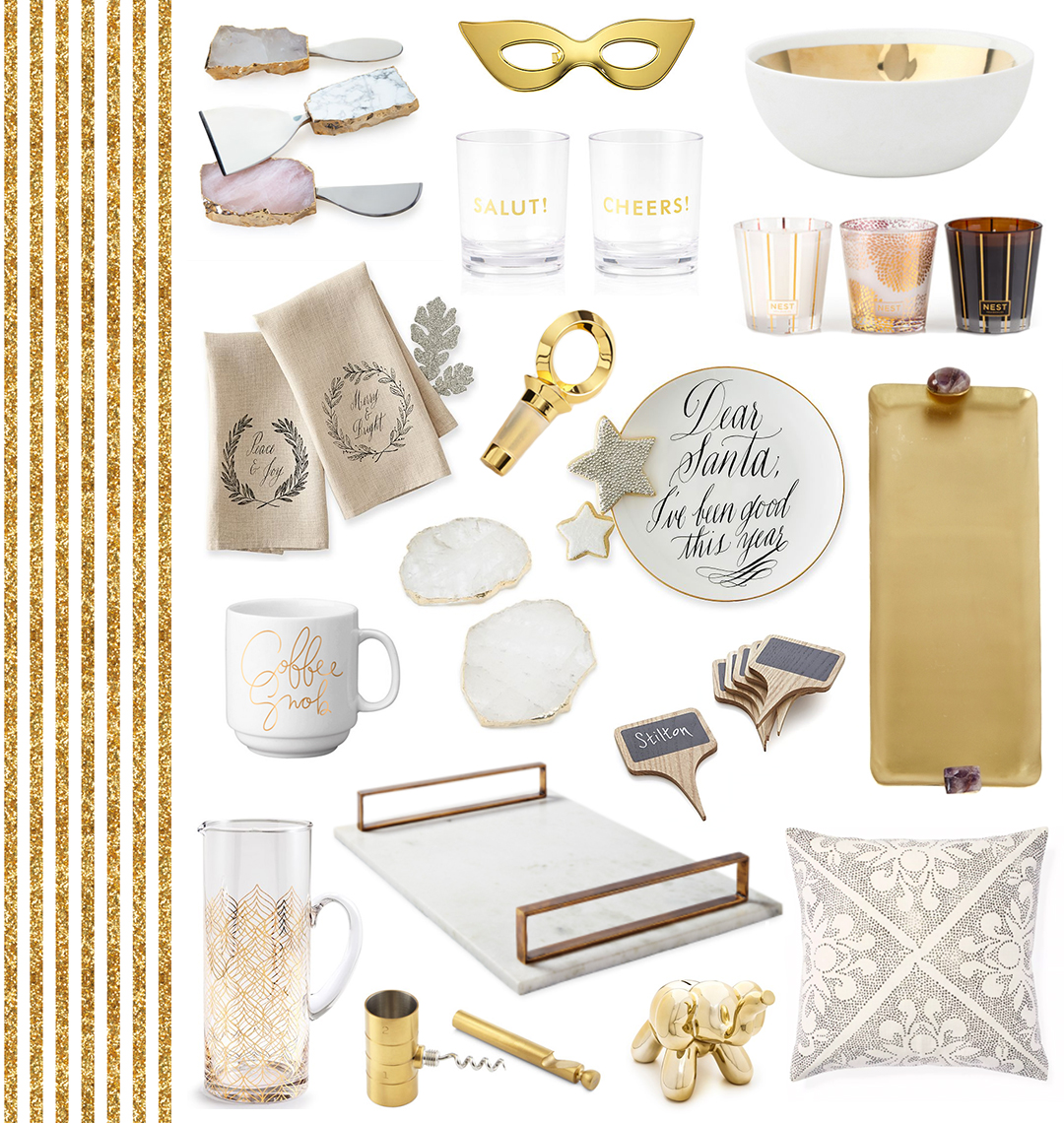 Holiday Gift Guide | For The Hostess // The Style Scribe