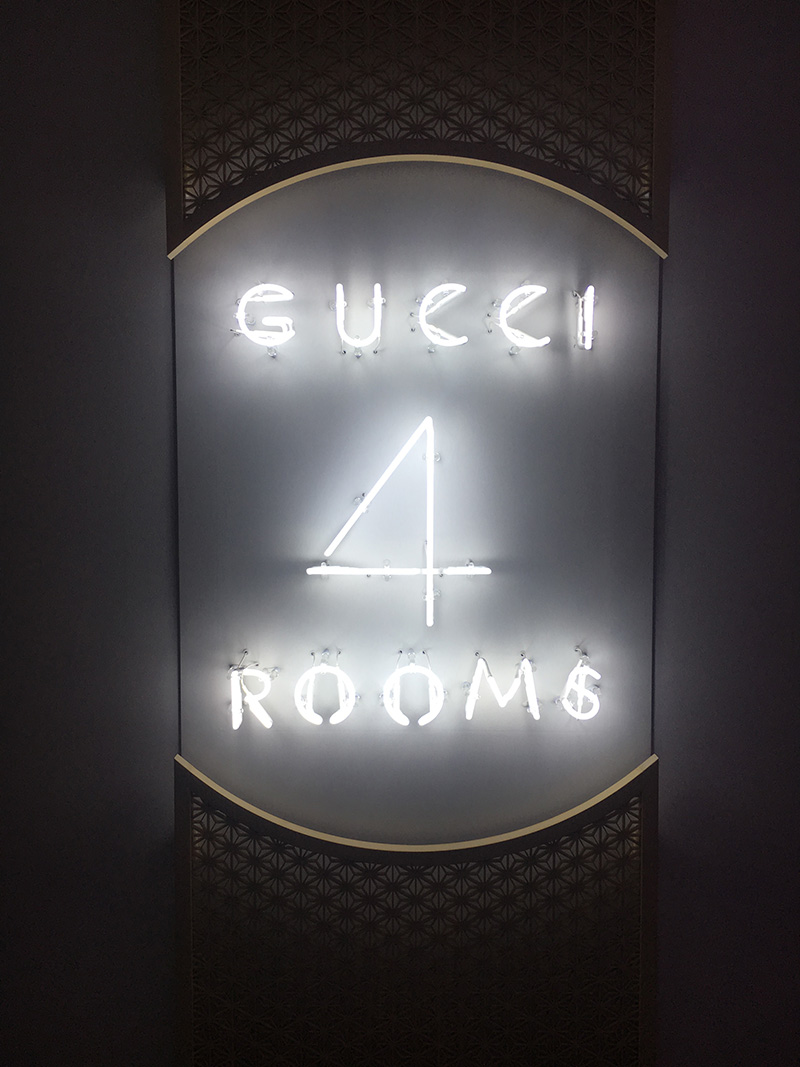 Gucci Four Rooms | The Style Scribe