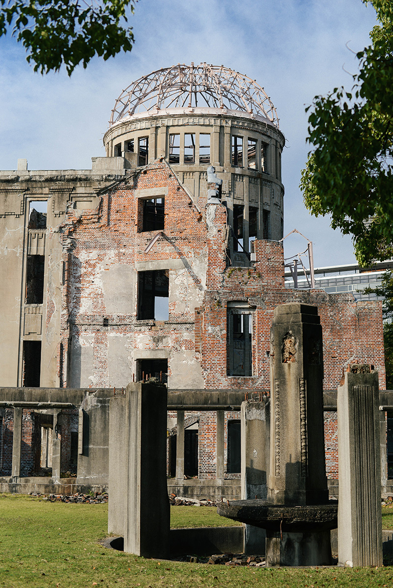 Visiting the Hiroshima Atomic Bomb Dome