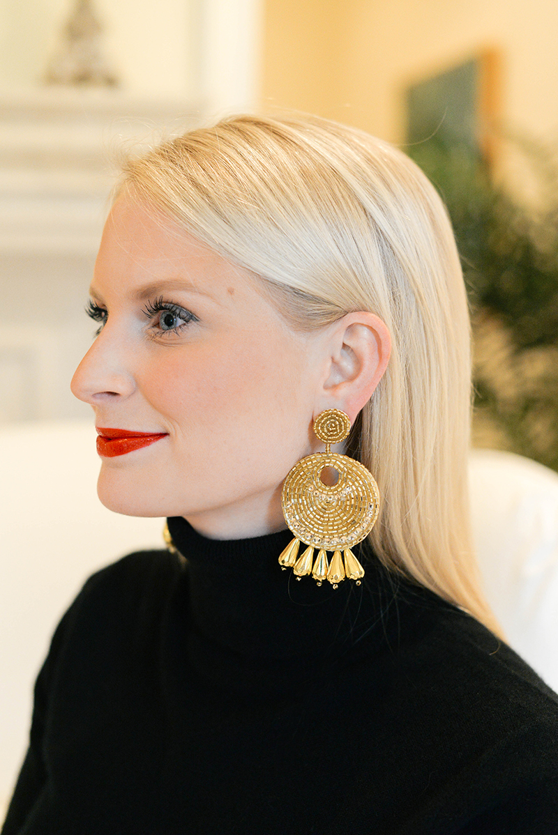 Sweaters and Statement Earrings   The Style Scribe