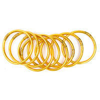 budha girl gold bangles