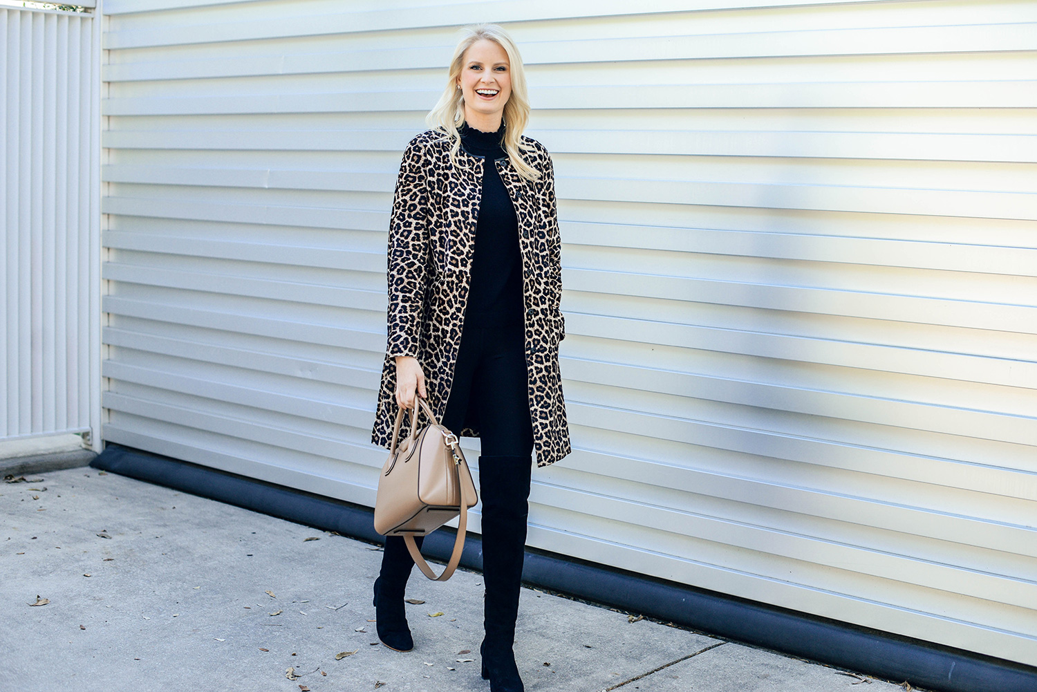 calf-hair animal print coats