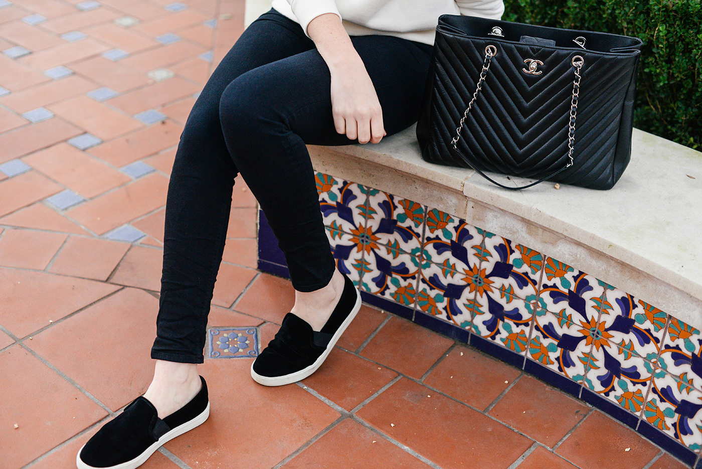 black velvet slip on sneakers