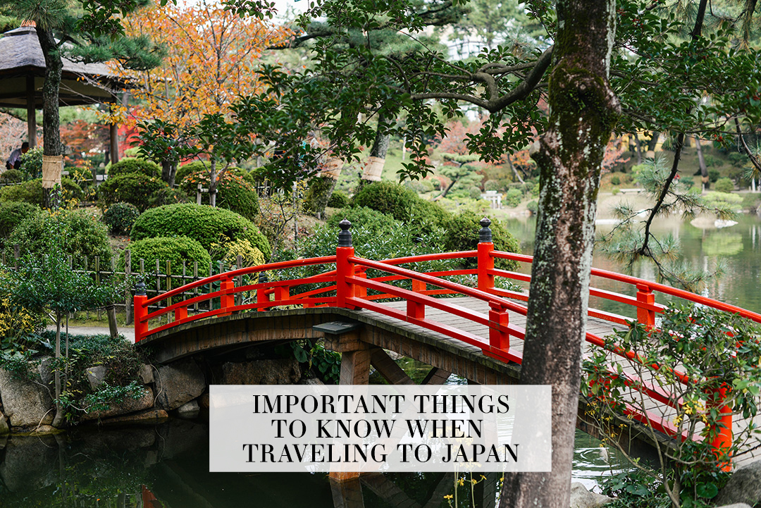Important Things To Know When Traveling to Japan | The Style Scribe