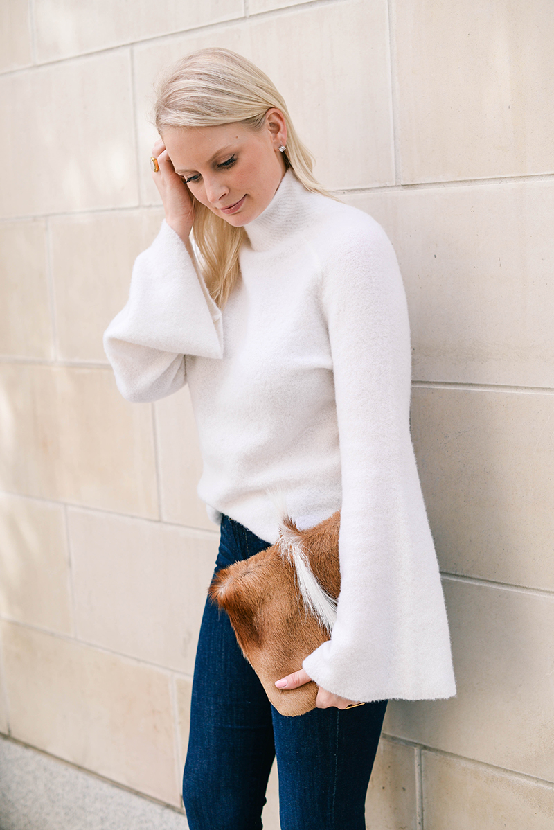 Bell Sleeve Sweater | The Style Scribe