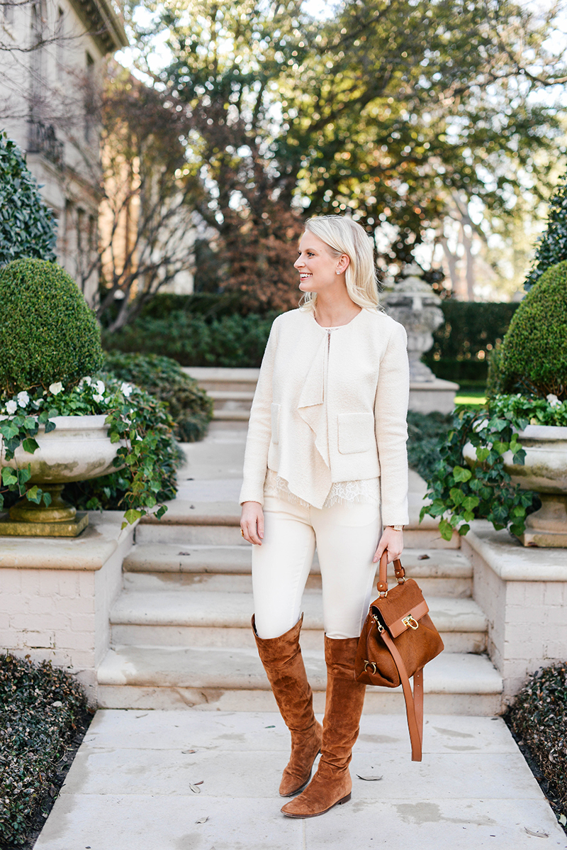Casual Winter White Outfit | The Style Scribe
