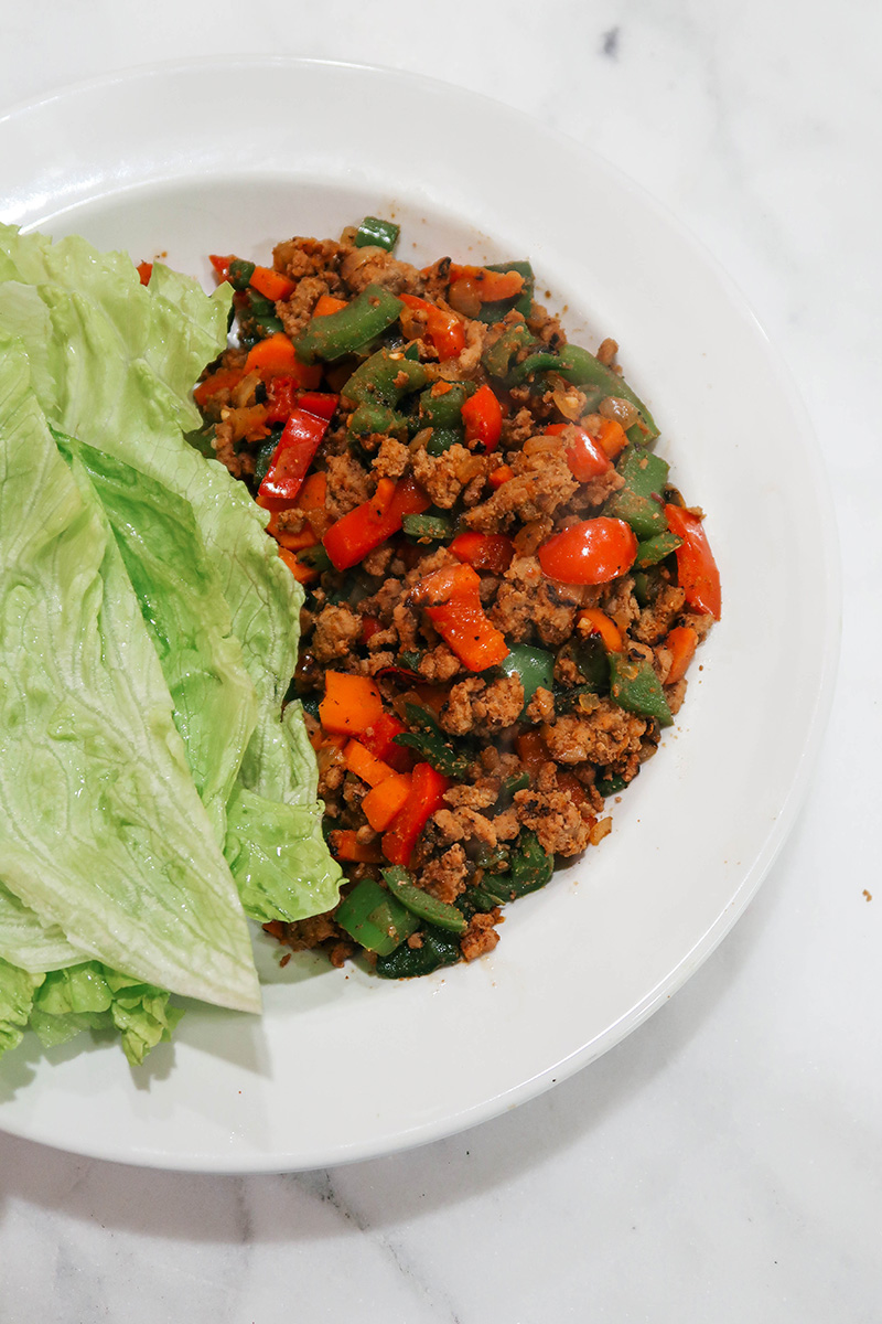 Easy Turkey Taco Lettuce Wraps | The Style Scribe