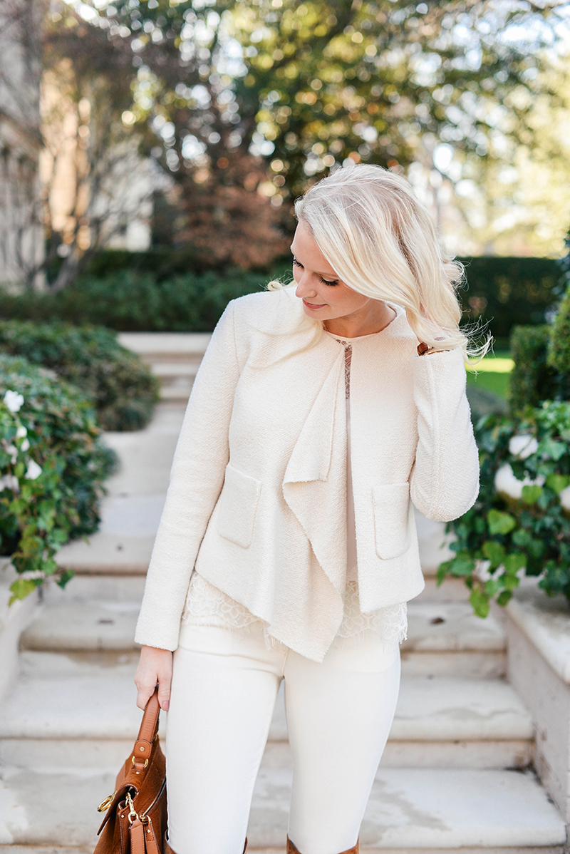 Casual Winter White Outfit   The Style Scribe