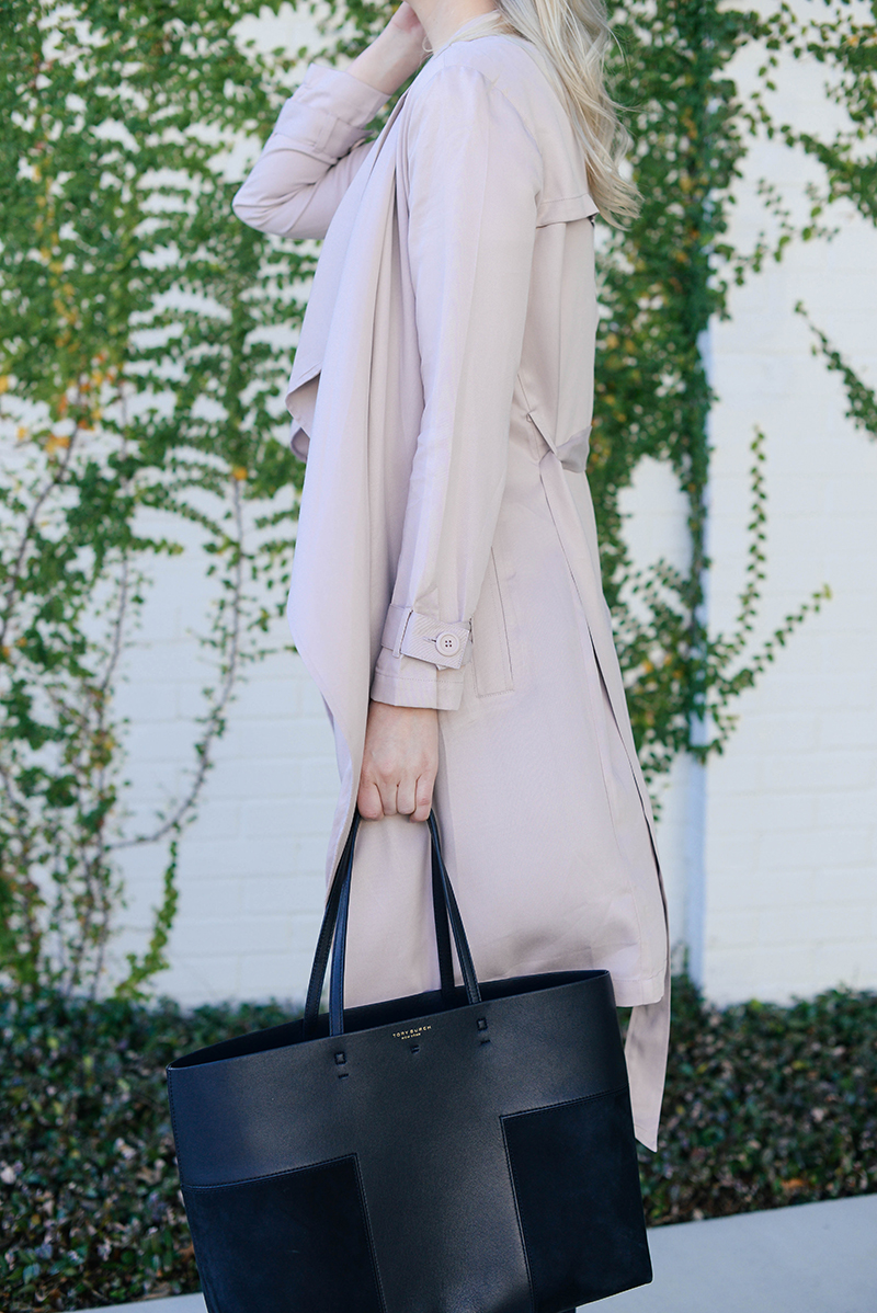 Blush Trench | The Style Scribe