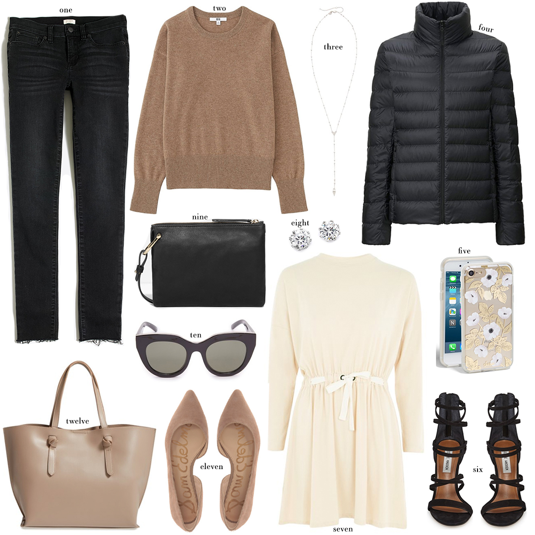 Everyday Basics Under $100 | The Style Scribe