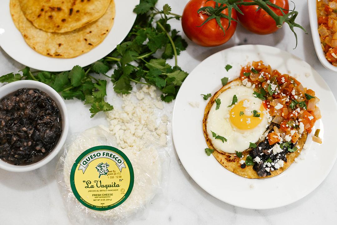 La Vaquita Queso Fresco, Huevos Rancheros Recipe | The Style Scribe