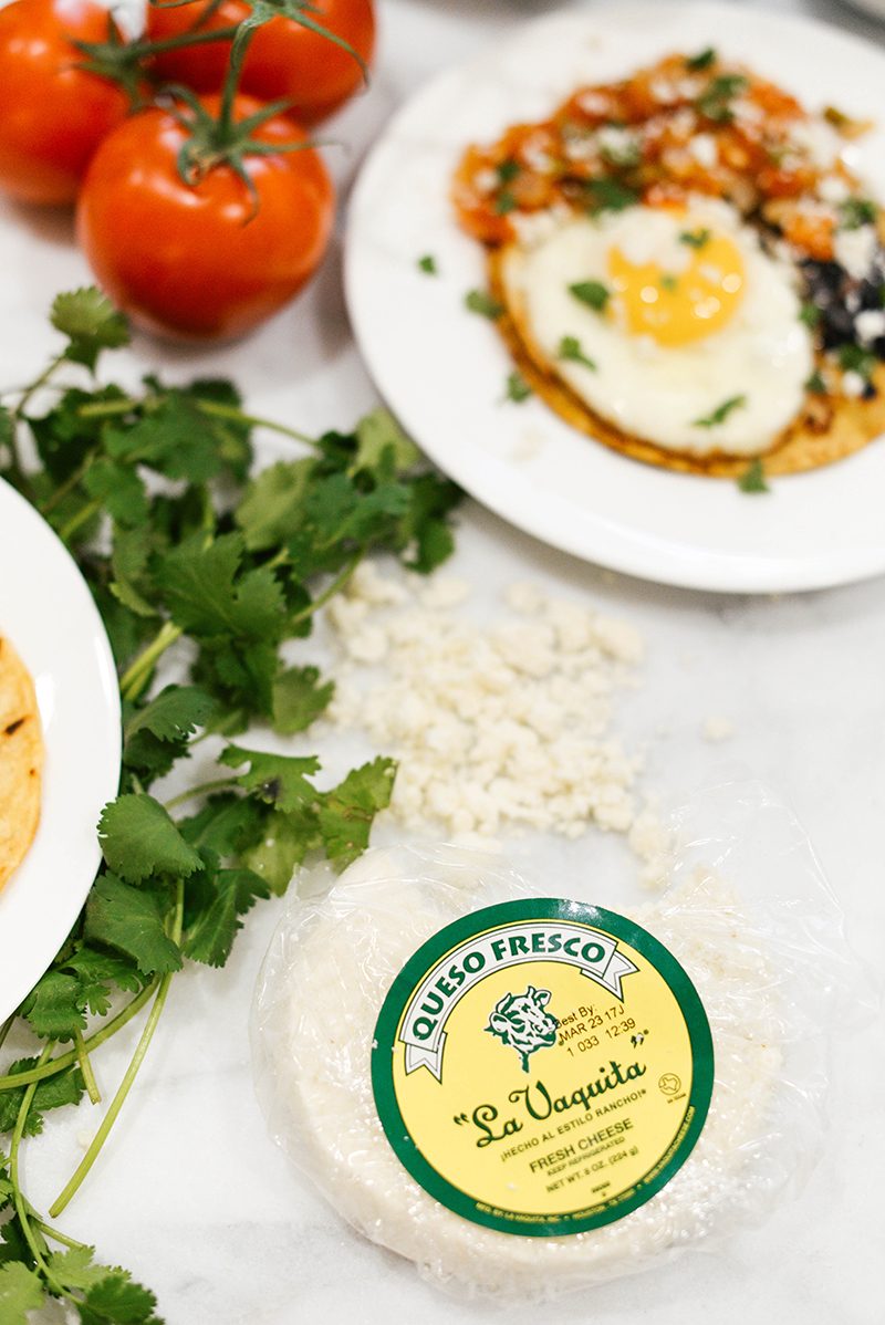 La Vaquita Queso Fresco, Huevos Rancheros Recipe | The Style Scribe