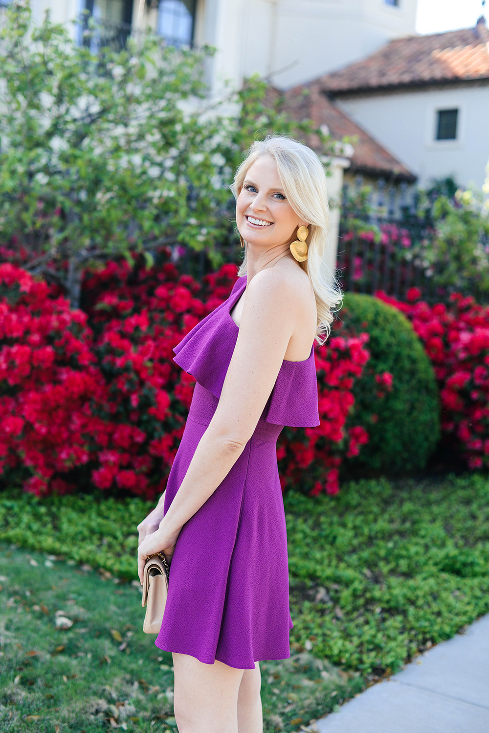Party Ready in Purple | The Style Scribe