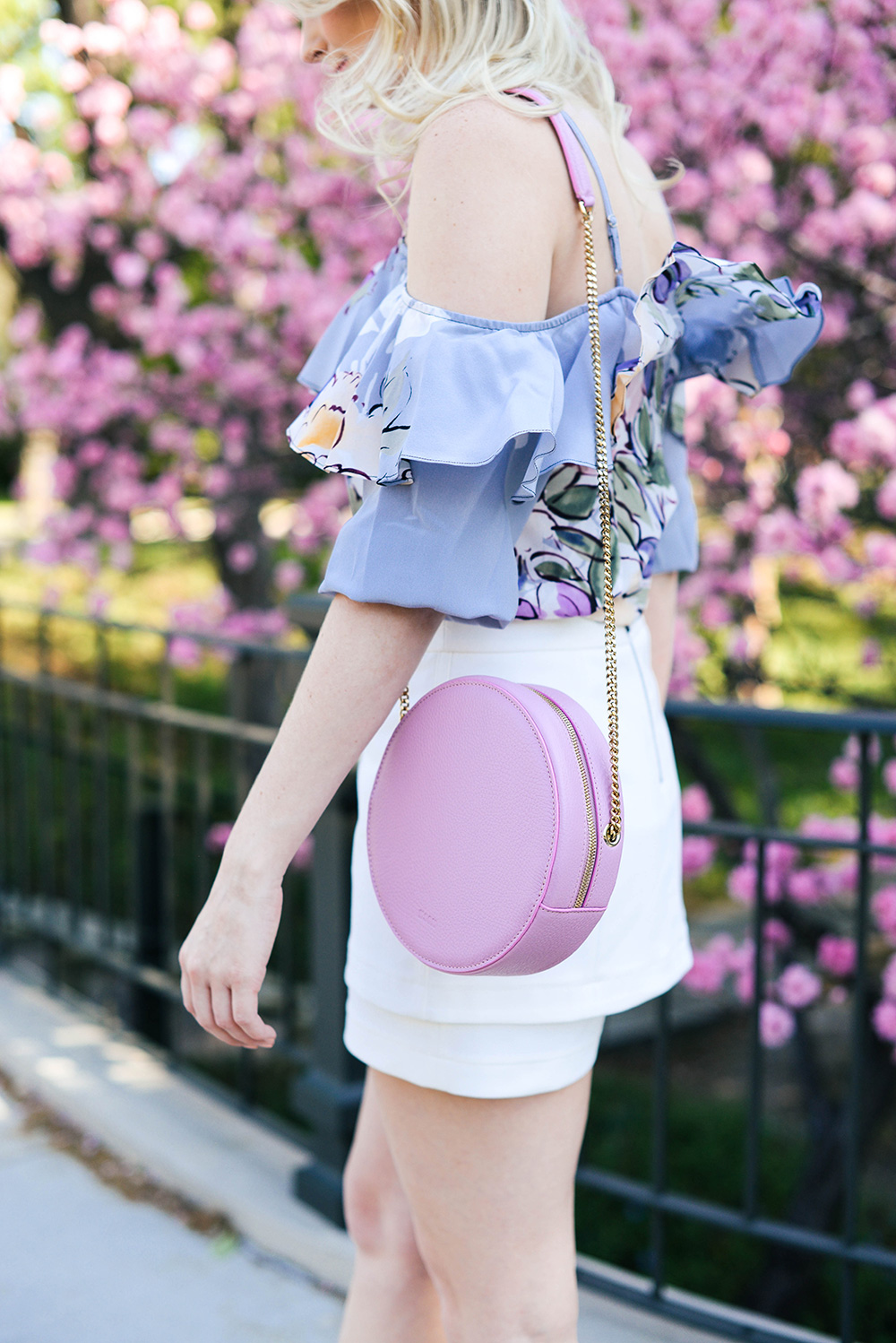 MSGM Round Bag | The Style Scribe