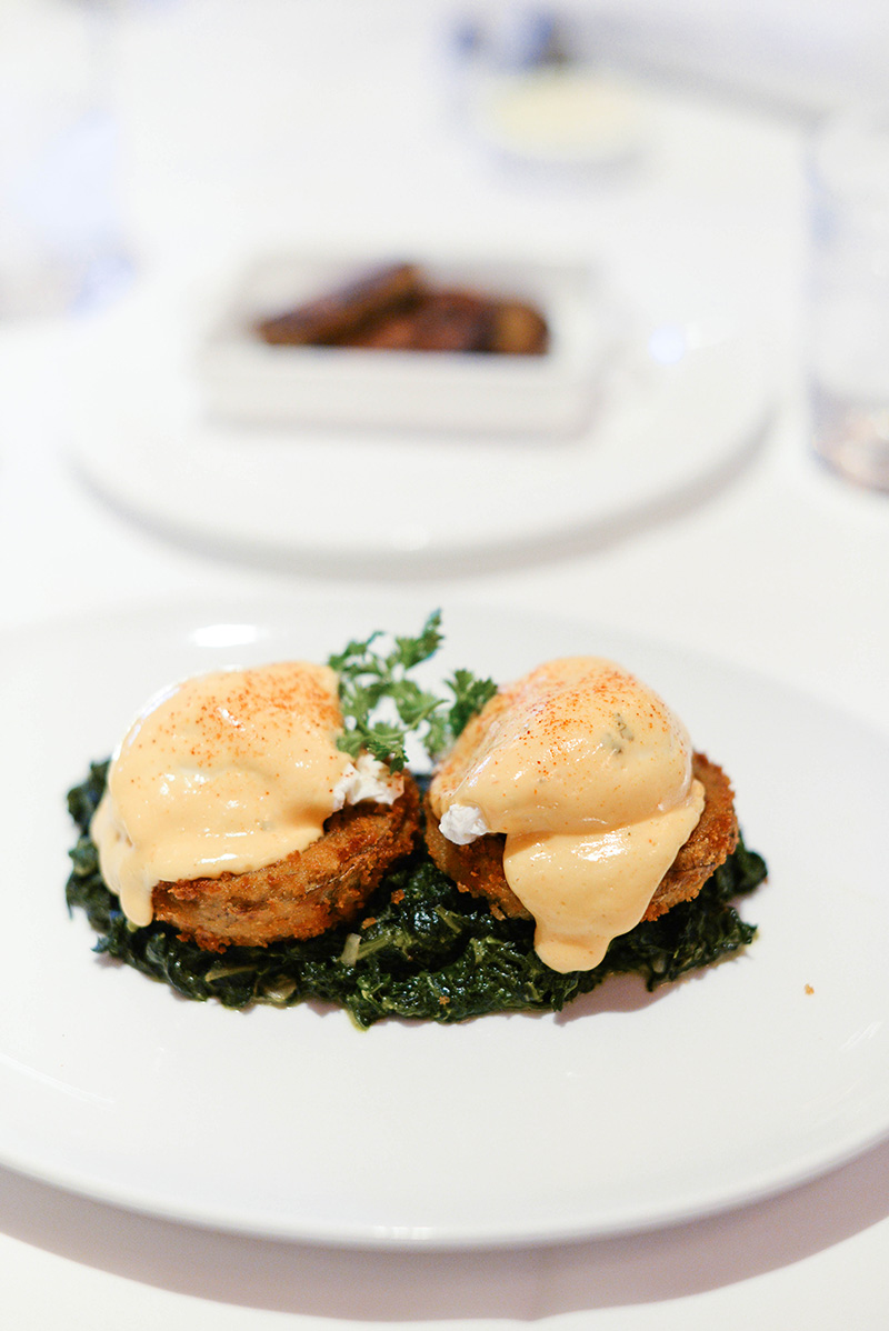 Eggs Sardou at Brennan's, French Quarter New Orleans | The Style Scribe