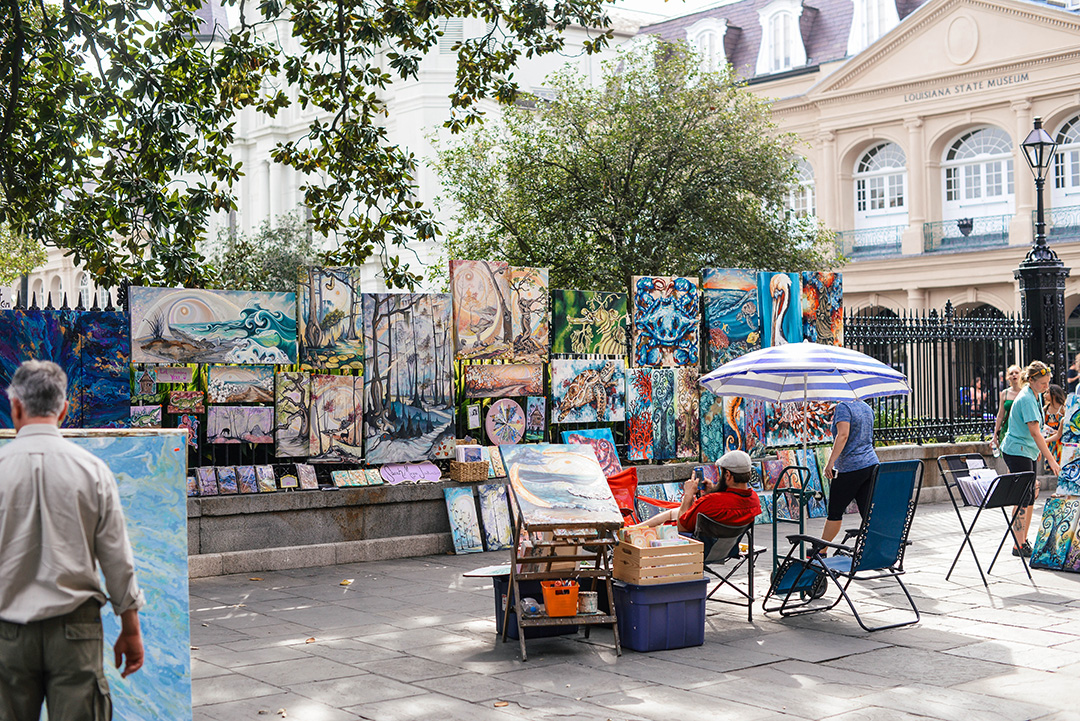 Jackson Square, New Orleans | The Style Scribe