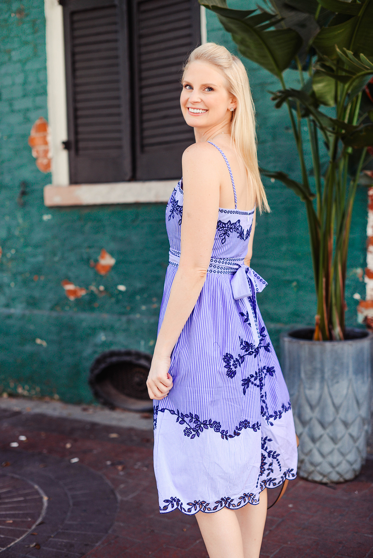 Parker Dani Embroidered Dress | The Style Scribe