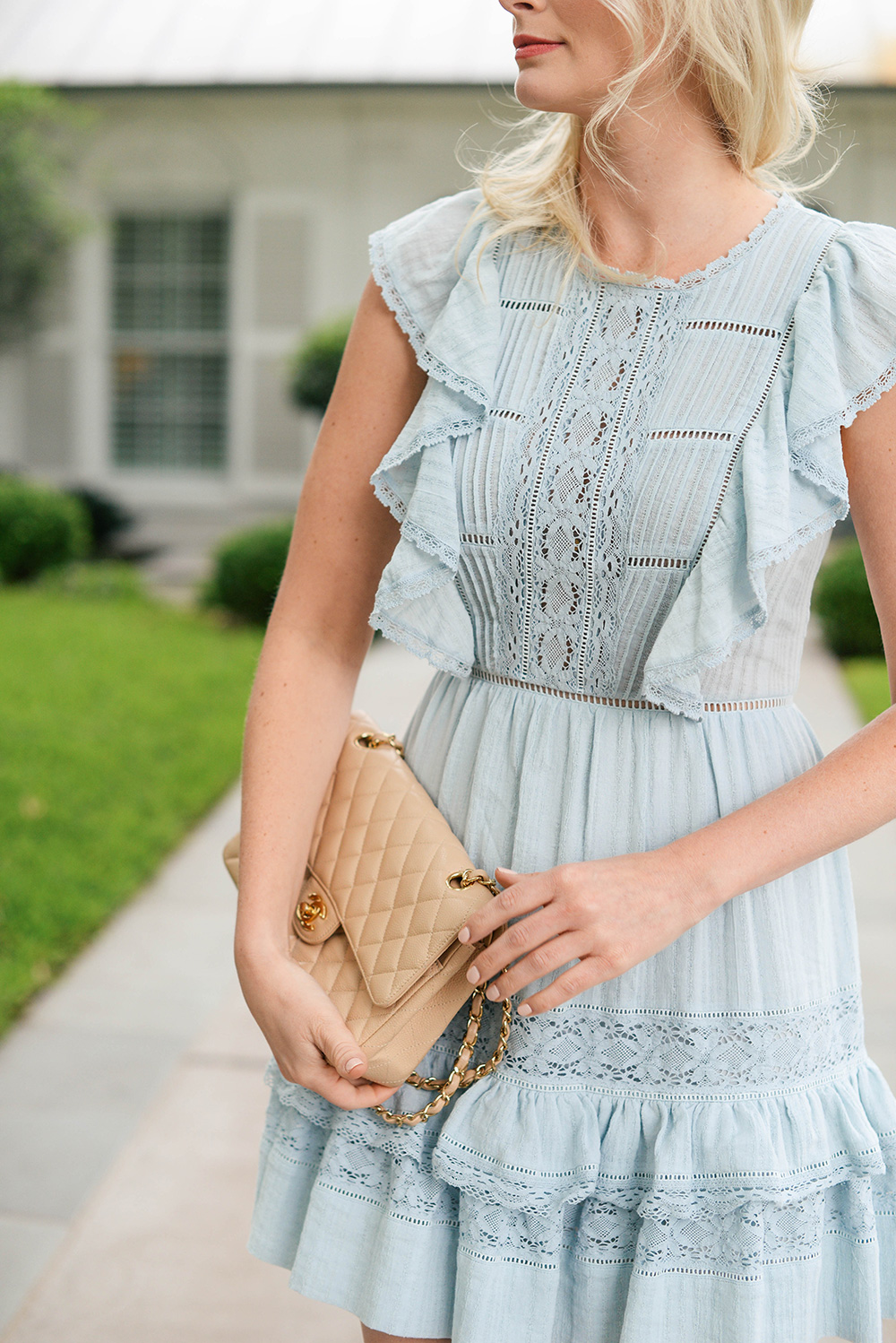 Rebecca Taylor Cotton Gauze Dress | The Style Scribe
