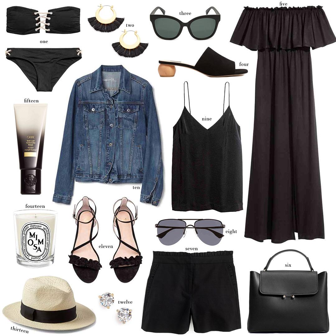 Black Summer Favorites Under $100   The Style Scribe