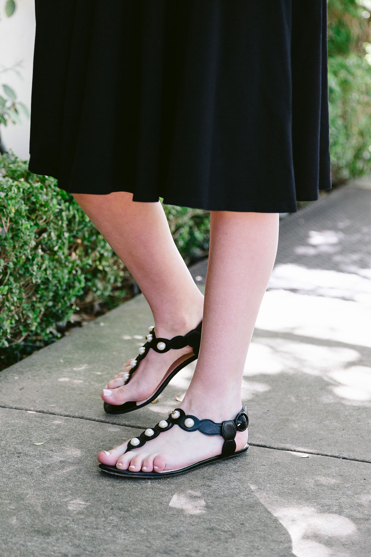Gucci Pearl Sandals | The Style Scribe