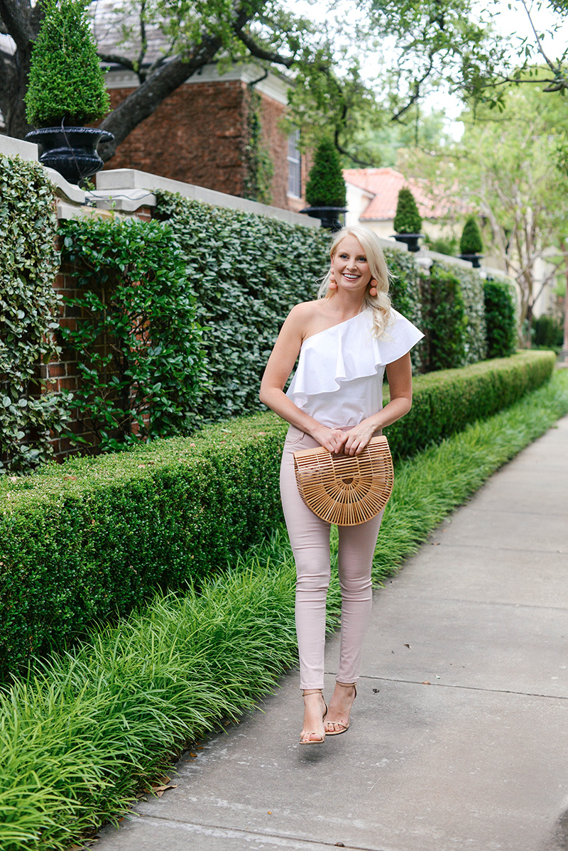 Blush Skinny Jeans | The Style Scribe