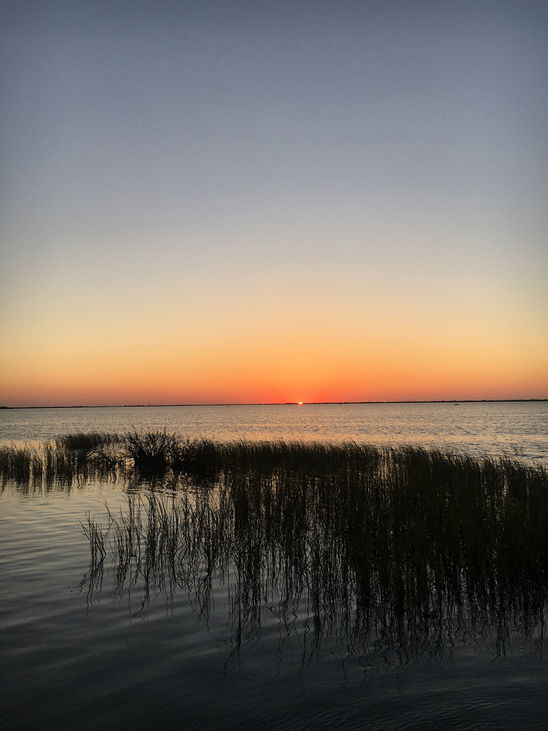 No Filter Sunrise in Port Aransas, Texas | The Style Scribe